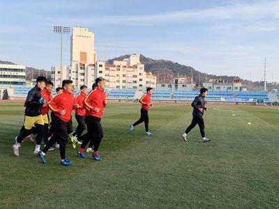 """HLV Park Hang-seo yêu cầu cầu thủ U23 Việt Nam """"trở lại mặt đất"""" khi tới Hàn Quốc - ảnh 1"""
