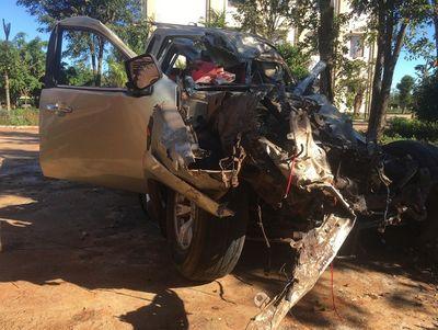 Tai nạn thảm khốc ở Gia Lai, 3 người tử vong, 3 người trọng thương - ảnh 1