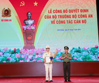 Bổ nhiệm Phó giám đốc Công an Quảng Ninh làm giám đốc Công an Bình Dương - ảnh 1