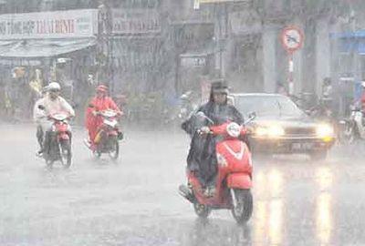 Dự báo thời tiết ngày 15/4: Mưa lớn trên diện rộng ở miền Bắc - ảnh 1