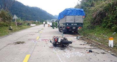 Tai nạn giao thông trên đèo Lò Xo, 2 vợ chồng người Đức tử vong - ảnh 1