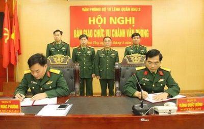 Điều động, bổ nhiệm nhân sự 3 Quân khu - ảnh 1