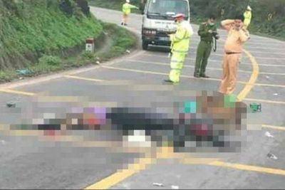 Lộ diện tài xế xe đầu kéo đâm chết một phụ nữ rồi bỏ chạy - ảnh 1