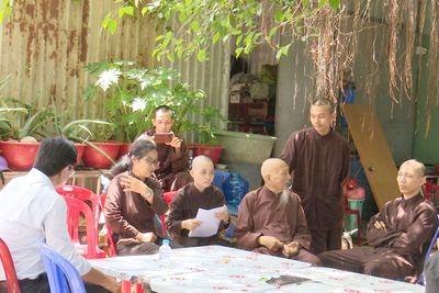"""Kiểm tra """"Tịnh thất Bồng Lai"""", nơi có 5 chú tiểu thi """"Thách thức danh hài"""" - ảnh 1"""