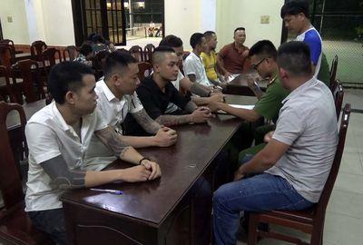 """Tổ chức """"tiệc"""" ma túy mừng sinh nhật vợ, Quang """"Camel"""" bị công an bắt giữ - ảnh 1"""