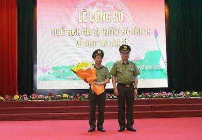 Bổ nhiệm Phó chánh Thanh tra bộ Công an, Giám đốc Công an tỉnh Hòa Bình - ảnh 1