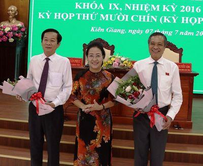 Ông Đỗ Thanh Bình được bầu giữ chức Chủ tịch UBND tỉnh Kiên Giang  - ảnh 1