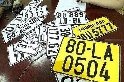 Từ 1/8, xe kinh doanh vận tải sẽ phải đổi sang biển số màu vàng - ảnh 1