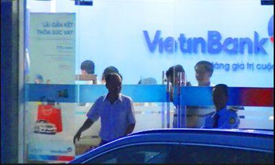 Vụ cướp ngân hàng ở Tiền Giang: Nghi phạm 2 lần đe dọa nhân viên ép lấy tiền - ảnh 1
