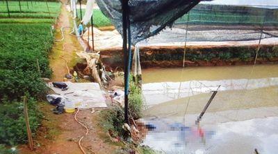 Danh tính đôi nam nữ ôm nhau tử vong dưới hồ, quanh người quấn chặt dây điện - ảnh 1