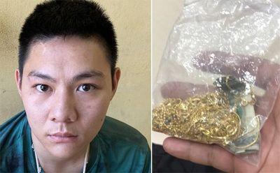 Vụ đập vỡ tủ kính, cướp 2 cây vàng: Nghi phạm thay tên đổi họ đến bệnh viện trị thương - ảnh 1