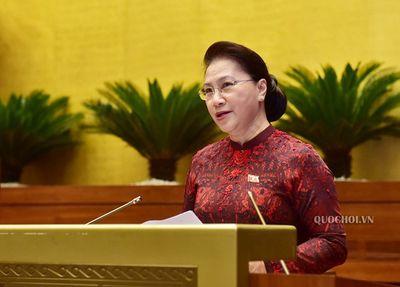Chủ tịch Quốc hội Nguyễn Thị Kim Ngân giữ chức Chủ tịch Hội đồng bầu cử quốc gia - ảnh 1