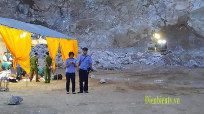 Điện Biên: Sét đánh nổ mìn tại mỏ đá, 2 người chết, 1 người mất tích - ảnh 1