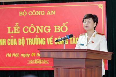 Bổ nhiệm Thiếu tướng Ngô Thị Hoàng Yến giữ chức Cục trưởng Cục Hồ sơ nghiệp vụ - ảnh 1