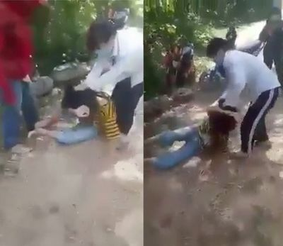 Vụ nữ sinh lớp 8 bị bạn đưa vào rừng đánh dã man ở Nghệ An: Nhóm học sinh khai gì? - ảnh 1