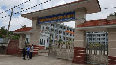 """Vụ gian lận điểm thi ở Hà Giang: Danh tính cán bộ Sở GD-ĐT """"tiếp tay"""" sửa điểm thi THPT quốc gia - ảnh 1"""