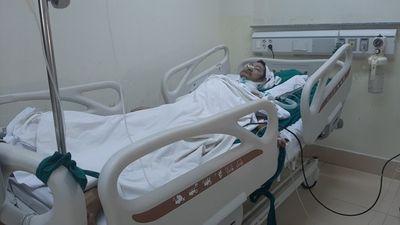 Bệnh viện Bà Rịa mổ thành công ca ung thư thanh quản đầu tiên - ảnh 1
