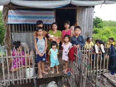 Cà Mau: Cháy nhà lúc rạng sáng, 7 đứa trẻ may mắn thoát nạn - ảnh 1