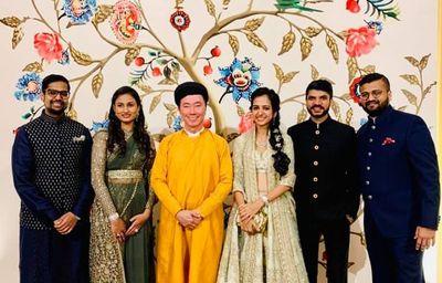 """Trước lễ cưới xa xỉ tại Đà Nẵng, gia đình triệu phú Ấn tổ chức đám cưới """"nháp"""" cho khách mời tại quê nhà - ảnh 1"""
