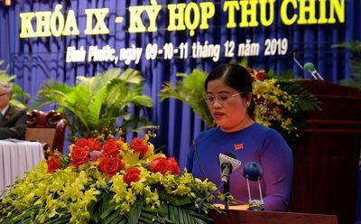 Chân dung nữ Chủ tịch UBND tỉnh đầu tiên ở Bình Phước - ảnh 1