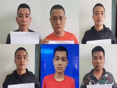 Triệt phá đường dây cho vay nặng lãi ở Bà Rịa - Vũng Tàu, bắt 6 nghi can liên quan - ảnh 1