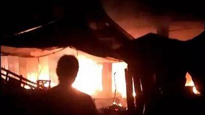 Cửa hàng pháo lậu phát nổ kinh hoàng ngay đêm mùng 1 Tết, 5 người tử vong - ảnh 1