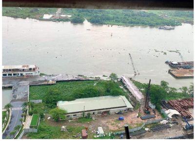 Thông tin chính thức sự cố sập cầu tàu Ba Son ở TP.HCM - ảnh 1