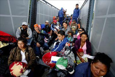 Mexico muốn kìm hãm dòng người di cư đến Mỹ - ảnh 1