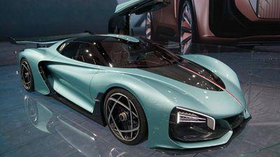 """Siêu xe Hồng Kỳ lần đầu xuất hiện ở Frankfurt Motor Show 2019 khiến giới chơi xe """"lóa mắt"""" - ảnh 1"""