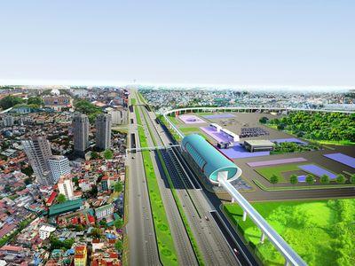 TP.HCM chuẩn bị xây dựng cầu vượt trước Bến xe Miền Đông mới - ảnh 1