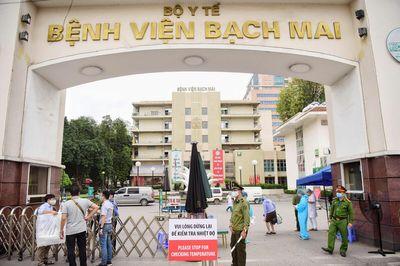 Hà Nội rà soát được 96 trường hợp ở quận Hoàng Mai liên quan đến Bệnh viện Bạch Mai - ảnh 1
