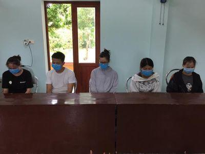 Bắt giữ 5 người Trung Quốc nhập cảnh trái phép vào Việt Nam - ảnh 1