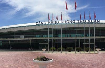 Sân bay Thọ Xuân sẽ được nâng cấp thành cảng hàng không quốc tế - ảnh 1
