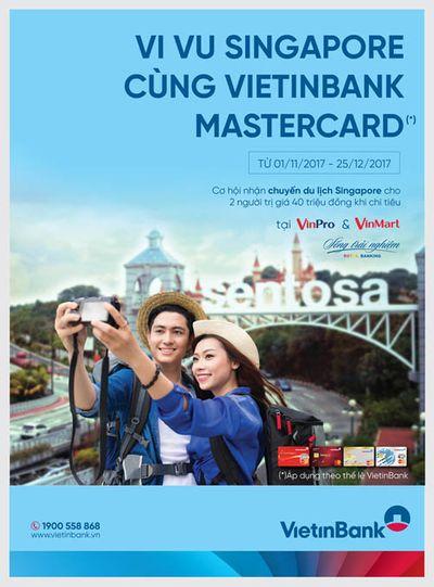 Vi vu Singapore cùng thẻ VietinBank MasterCard - ảnh 1