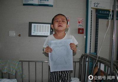 Bị bỏ rơi vì ung thư máu, bé 4 tuổi vẽ tranh mẹ cho đỡ nhớ: 'Nếu con khỏi bệnh, mẹ có về không?' - ảnh 1