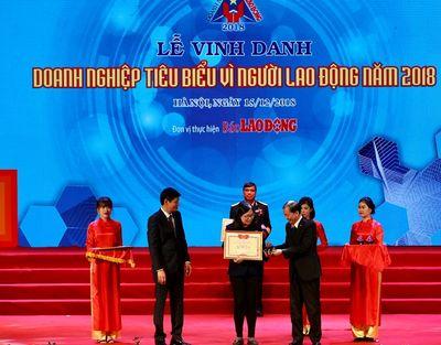 Nestlé Việt Nam Được Vinh Danh Doanh Nghiệp Vì Người Lao Động  - ảnh 1