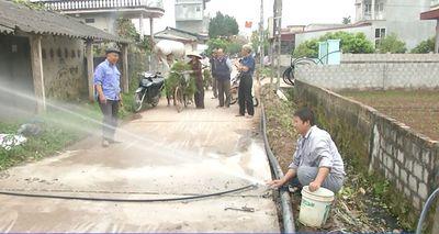 Hưng Yên: Hết năm 2018 đạt 80% người dân có nước sạch - ảnh 1