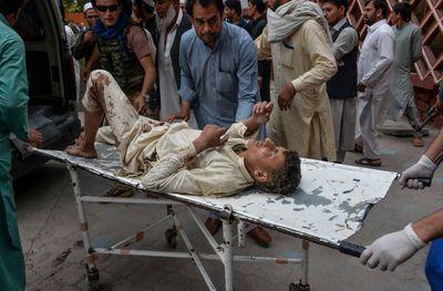 Đánh bom nhà thờ Hồi giáo ở Afghanistan, ít nhất 62 người chết - ảnh 1