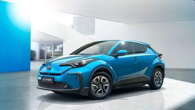 Ra mắt Toyota C-HR đẹp mê ly, giá hơn 500 triệu đồng - ảnh 1