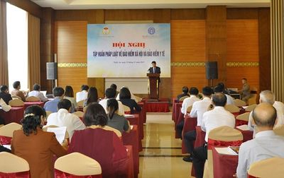 Hội Luật gia Việt Nam tổ chức tập huấn pháp luật về BHXH và BHYT - ảnh 1