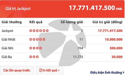 Kết quả xổ số Vietlott hôm nay 23/6/2019: Jackpot hơn 17 tỷ đồng đã tìm thấy chủ nhân? - ảnh 1