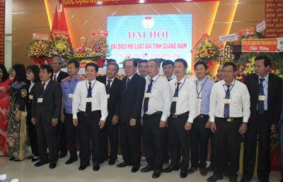 Hội Luật gia tỉnh Quảng Nam tổ chức Đại hội Đại biểu lần thứ III - ảnh 1