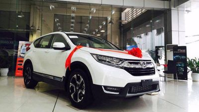 Honda CR-V tiếp tục giảm mạnh dịp cận tết  - ảnh 1