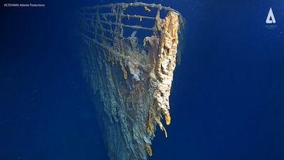 """Lần đầu tiên, sau 14 năm các chuyên gia nhìn thấy những gì còn lại của tàu """"Titanic"""" ở dưới đáy đại dương - ảnh 1"""