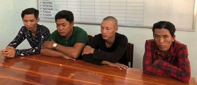Nhóm thanh niên cưỡng đoạt tài sản của ngư dân ven biển Cà Mau bị bắt giữ - ảnh 1