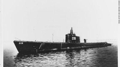 Tàu ngầm mất tích 75 năm bất ngờ được tìm thấy ở Nhật Bản - ảnh 1