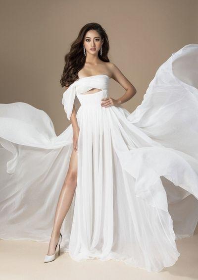 Hoa hậu Lương Thuỳ Linh khoe nhan sắc và thần thái đỉnh cao trong bộ ảnh mới của Miss World - ảnh 1