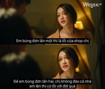 """Câu nói """"đắt giá"""" nhất trong MV của Hương Giang đã trở nên 'lầy lội' khi vào tay cư dân mạng - ảnh 1"""