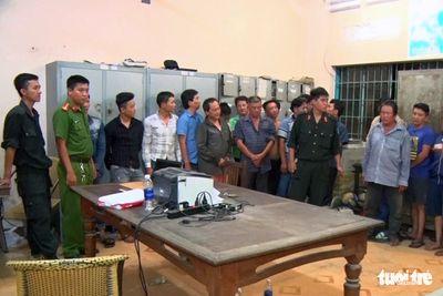 Triệt phá ổ đá gà quy mô lớn, tạm giữ 56 người tại Đồng Nai - ảnh 1