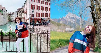 Bảo Thy bất lực nhìn vali bị cướp ở Milan - ảnh 1